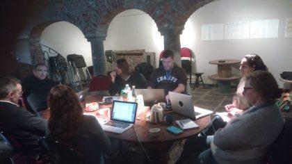 Travail de groupe - atelier d'écriture
