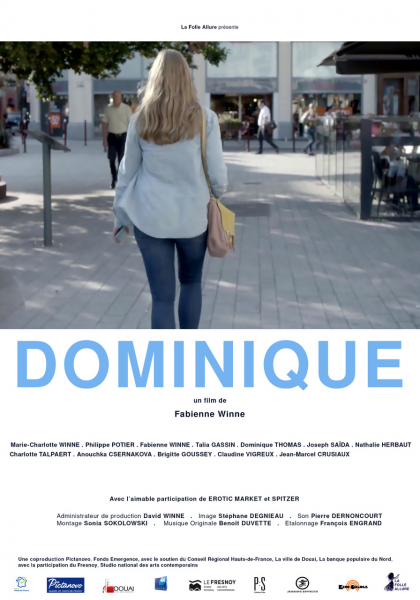 Affiche Film Dominique Fabienne Winne